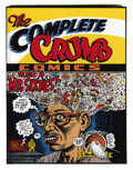 Modern Age (1980-Present):Humor, The Complete Crumb Comics Volume 4 Hardcover First Edition Group(Fantagraphics Books, 1989) Condition: Average VF+.... (Total: 3Comic Books)