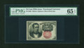 Fractional Currency:Fifth Issue, Fr. 1266 10c Fifth Issue PMG Gem Uncirculated 65 EPQ....