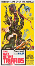 "Movie Posters:Science Fiction, The Day of the Triffids (Allied Artists, 1962). Three Sheet (41"" X81"").. ..."