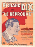"Movie Posters:Western, Redskin (Paramount, 1929). French Grande (47"" X 63"").. ..."