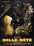"""Movie Posters:Drama, Beauty and the Beast (DisCina, R-1951). French Grande (47"""" X 63"""").. ..."""