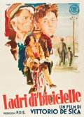 """Movie Posters:Foreign, The Bicycle Thief (ENIC, 1948). Italian 2 - Folio (39"""" X 55"""").. ..."""