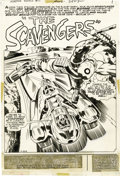 """Original Comic Art:Complete Story, Jack Kirby and Mike Royer - The Forever People #10, Complete 22-page Story """"The Scavengers"""" Original Art (DC, 1972). ... (Total: 22 Items)"""