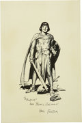 Original Comic Art:Miscellaneous, Hal Foster - Prince Valiant Print, Group of 7 (undated). ...(Total: 7)
