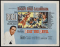 "Movie Posters:Adventure, Beat the Devil (United Artists, 1953). One Sheet (27"" X 41"") StyleB. Adventure. Starring Humphrey Bogart, Jennifer Jones, G..."