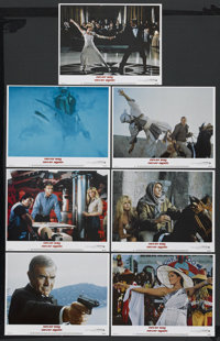 "Never Say Never Again (Warner Brothers, 1983). Lobby Cards (7) (11"" X 14""). James Bond. Starring Sean Connery..."