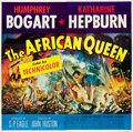 "Movie Posters:Adventure, The African Queen (United Artists, 1952). Six Sheet (81"" X 81"")....."
