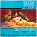 "Movie Posters:Historical Drama, Cleopatra (20th Century Fox, 1963). Six Sheet (81"" X 81"").. ..."