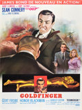 "Movie Posters:James Bond, Goldfinger (United Artists, 1964). French Grande (47"" X 63"") StyleA.. ..."