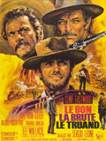 "Movie Posters:Western, The Good, the Bad and the Ugly (United Artists, 1966). French Grande (47"" X 63"").. ..."
