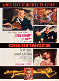 "Movie Posters:James Bond, Goldfinger (United Artists, 1964). French Grande (47"" X 63"") StyleB.. ..."