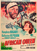 "Movie Posters:Adventure, The African Queen (United Artists, 1952). French Grande (44.5"" X61.5"").. ..."
