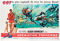 "Movie Posters:James Bond, Thunderball (United Artists, 1965). French Double Grande (62.5"" X92"").. ..."