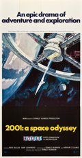 "Movie Posters:Science Fiction, 2001: A Space Odyssey (MGM, 1968). Three Sheet (41"" X 81"") CineramaStyle.. ..."
