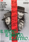 "Movie Posters:Western, The Good, The Bad and the Ugly (PEA, 1966). Italian 2 - Folio(37.5"" X 53"").. ..."