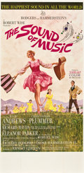 "Movie Posters:Musical, The Sound of Music (20th Century Fox, 1965). Three Sheet (41"" X81"") Todd AO Roadshow Style.. ..."