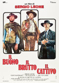 "Movie Posters:Western, The Good, the Bad and the Ugly (Titanus, R-1972). Italian 2 - Folio (39"" X 55"").. ..."