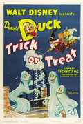 "Movie Posters:Animated, Trick or Treat (RKO, 1952). One Sheet (27"" X 41"").. ..."
