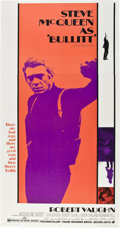 "Movie Posters:Action, Bullitt (Warner Brothers, 1968). Three Sheet (41"" X 81"").. ..."
