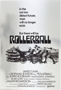 "Movie Posters:Science Fiction, Rollerball (United Artists, 1975). One Sheet (27"" X 41"") MylarAdvance.. ..."