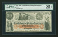 Confederate Notes:1861 Issues, T15 $50 1861.. ...