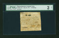 Colonial Notes:Massachusetts, Paul Revere Engraved Massachusetts May 25, 1775 12s PMG Fair 2Net....