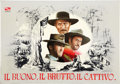 Movie Posters:Western, The Good, the Bad and the Ugly (PEA, 1966). Italian ProgramHard-Cover Book (22 pages).. ...