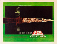 "12 Angry Men (United Artists, 1957). Half Sheet (22"" X 28"") Style B"