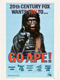 """Movie Posters:Science Fiction, Go Ape! (20th Century Fox, 1974). Poster (30"""" X 40"""").. ..."""