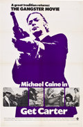 "Movie Posters:Crime, Get Carter (MGM, 1971). One Sheets (2) (27"" X 41"") Styles A &B.. ... (Total: 2 Items)"