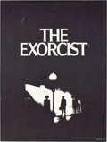 "Movie Posters:Horror, The Exorcist (Warner Brothers, 1974). Special Poster (18.5"" X 24.5"").. ..."
