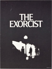 "The Exorcist (Warner Brothers, 1974). Special Poster (18.5"" X 24.5"")"
