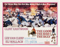 """Movie Posters:Western, The Good, the Bad and the Ugly (United Artists, 1968). Half Sheet(22"""" X 28"""").. ..."""