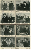 "Movie Posters:Film Noir, The Maltese Falcon (Warner Brothers, 1941). British Front-of-HouseStill Set of 8 (8"" X 10"").. ... (Total: 8 Items)"
