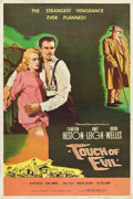 "Movie Posters:Film Noir, Touch of Evil (Universal International, 1958). Poster (40"" X 60"")Style Z.. ..."