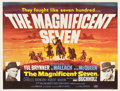 "Movie Posters:Western, The Magnificent Seven (United Artists, 1960). British Quad (30"" X 40"").. ..."