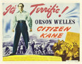 "Movie Posters:Drama, Citizen Kane (RKO, 1941). Half Sheet (22"" X 28"") Style A.. ..."
