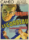 "Movie Posters:Horror, The Raven (Universal, 1935). Pre-War Belgian (24"" X 33.25"").. ..."