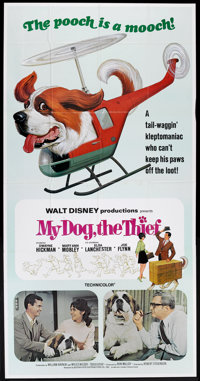 "My Dog, the Thief (Buena Vista, 1969). Three Sheet (41"" X 81""). Family"