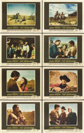 "Movie Posters:Western, The Searchers (Warner Brothers, 1956). Lobby Card Set of 8 (11"" X14"").. ... (Total: 8 Items)"