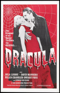"Movie Posters:Horror, Dracula (Universal, R-1960s). One Sheet (27"" X 41""). Horror.. ..."