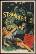"Movie Posters:Horror, Strangler of the Swamp (PRC, 1946). One Sheet (27"" X 41""). Horror....."