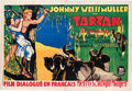 "Movie Posters:Adventure, Tarzan the Ape Man (MGM, 1932). French Double Grande (63"" X 96"")....."