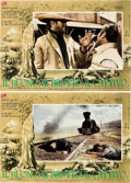 "Movie Posters:Western, The Good, the Bad and the Ugly (PEA, 1966). Italian Photobusta Setof 8 (18.25"" X 26.25"").. ... (Total: 8 Items)"