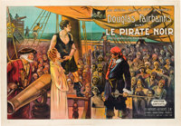"The Black Pirate (United Artists, 1926). French Double Grande (63.5"" X 94"")"