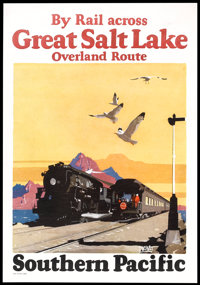 "Travel Poster (Southern Pacific). Poster (15.75"" X 22.75""). Travel"