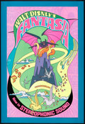 "Movie Posters:Animated, Fantasia (Buena Vista, R-1970). Poster (30"" X 40""). Animated.. ..."