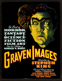 "Graven Images (Grove Press, 1992). Hardcover Book (240 Pages, 9.5"" X 12""). Horror"