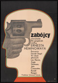 "Movie Posters:Crime, The Killers (Universal, 1970). Polish One Sheet (22.5"" x 32.5"").Crime.. ..."