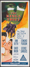 "Movie Posters:Adventure, The King's Thief (MGM, 1955). Australian Daybill (13"" X 30"").Adventure.. ..."